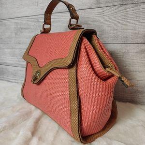 Urban Expressions woven Handbag
